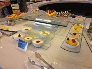 Oman Air Lounge Muscat Buffet