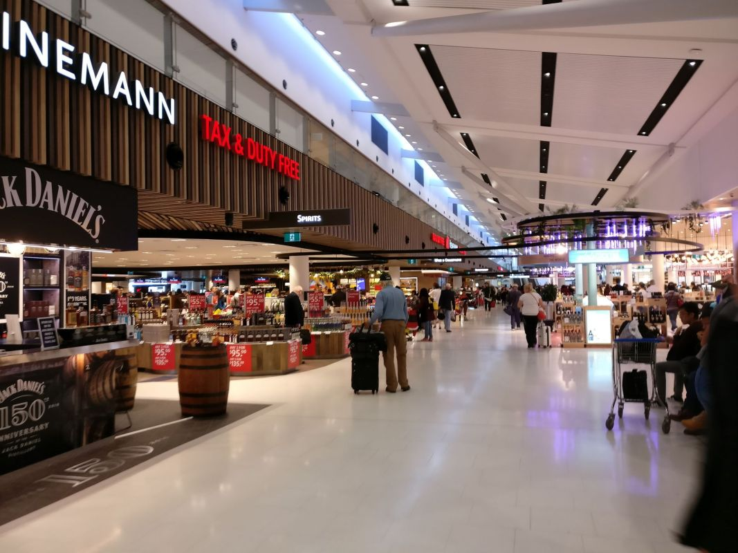 Sydney Airport Shopping