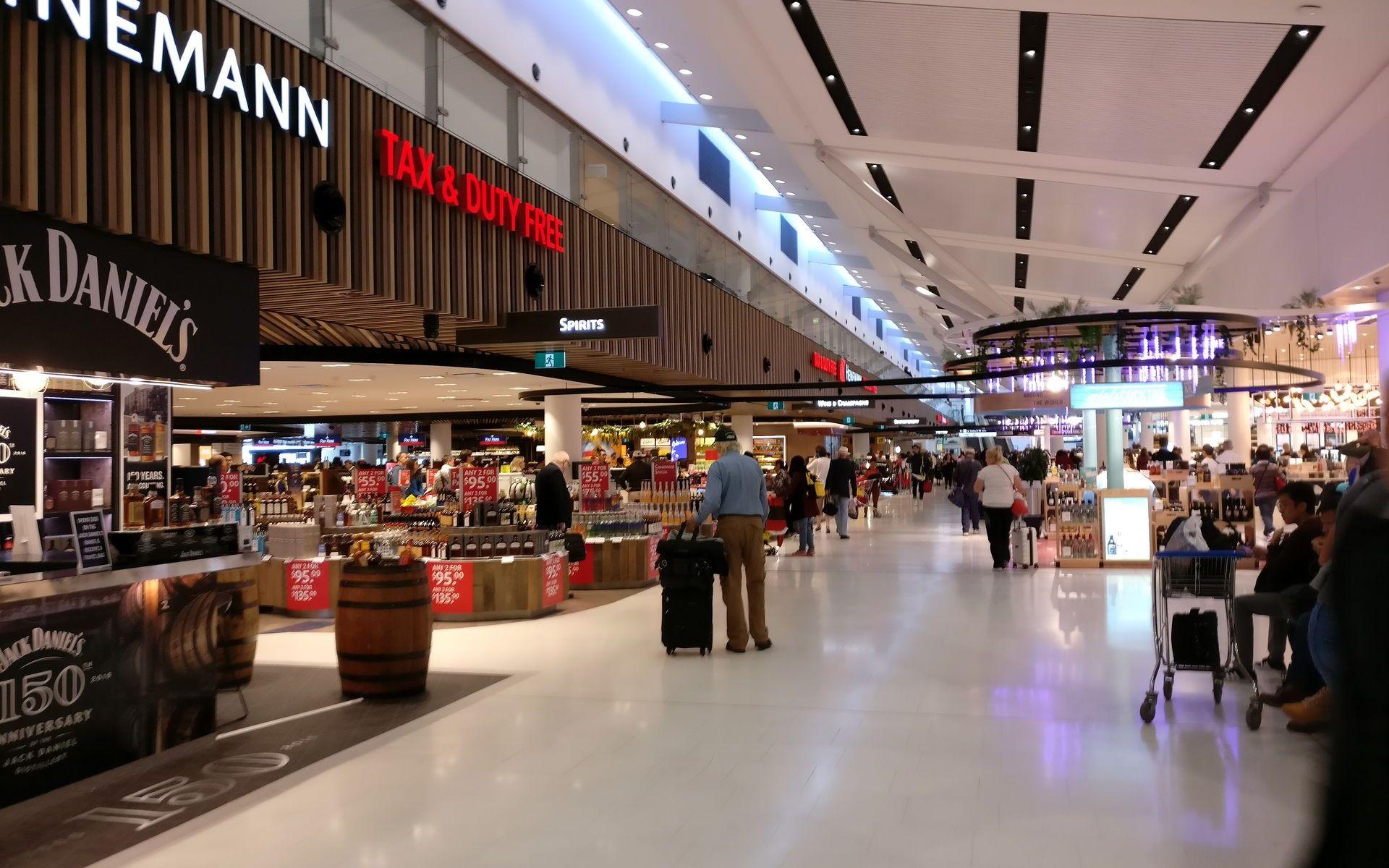 Sydney Airport Shopping