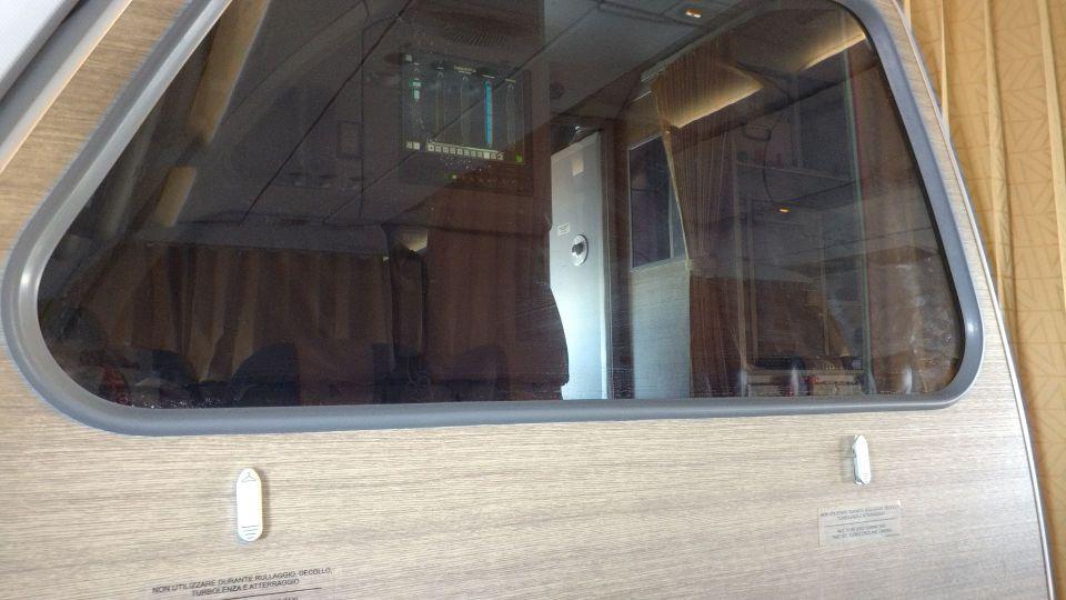 Alitalia Business Class Airbus A320 Cabin 3