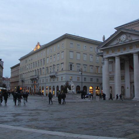 Piazza della Borsa Trieste