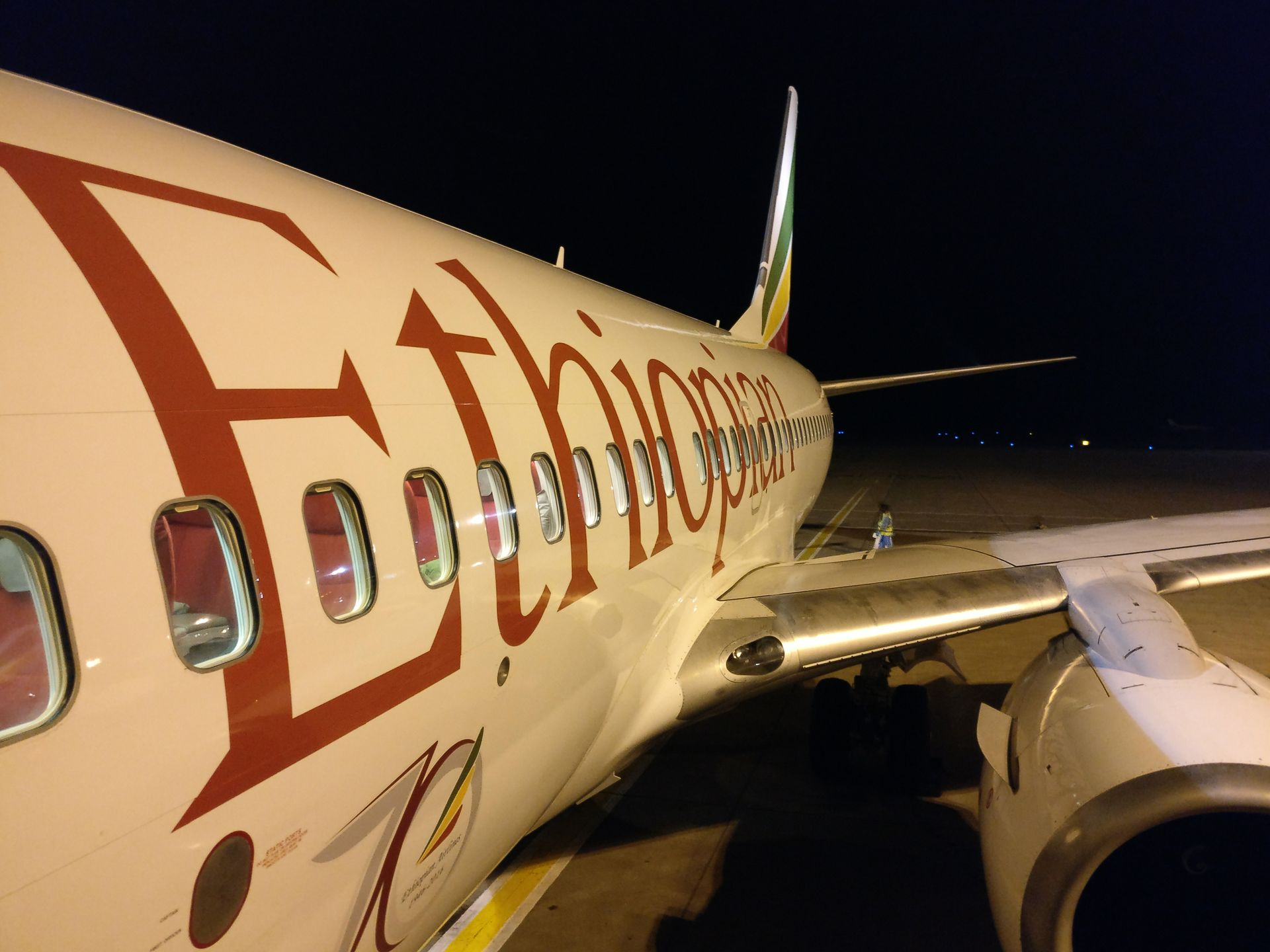 Ethiopian Airlines Business Class Boeing 737