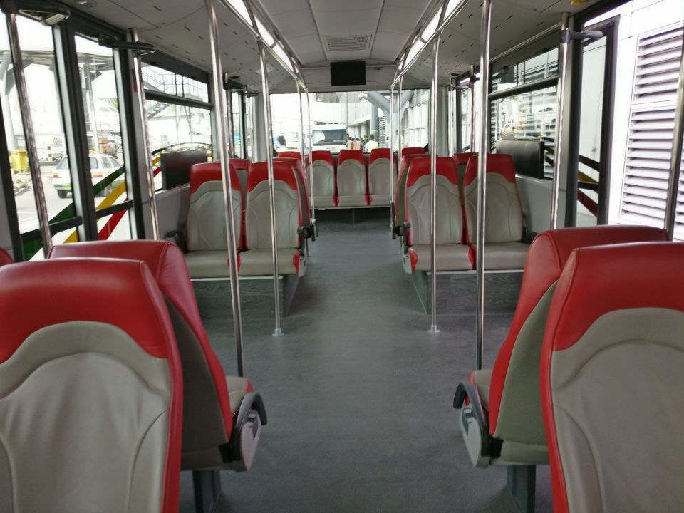 Ethiopian Airlines Business Class Bus