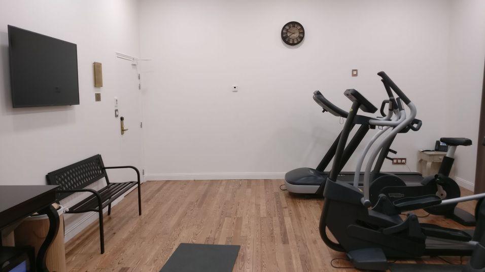 Grand Hotel des Sablettes Plage Gym