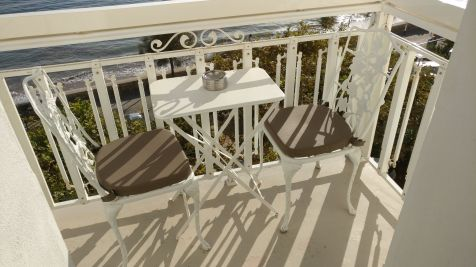 Grand Hotel des Sablettes Plage Sea View Room Balcony
