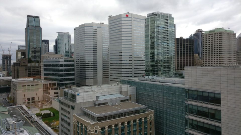 InterContinental Montreal Deluxe Corner Room View