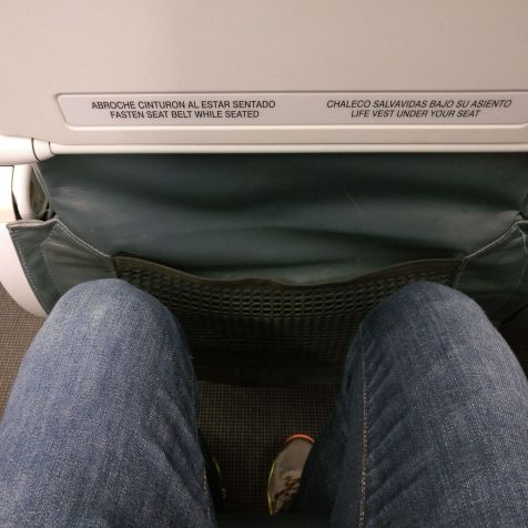 LATAM Economy Class Airbus A320 Seat Pitch