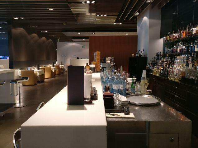 Lufthansa First Class Terminal Frankfurt Bar