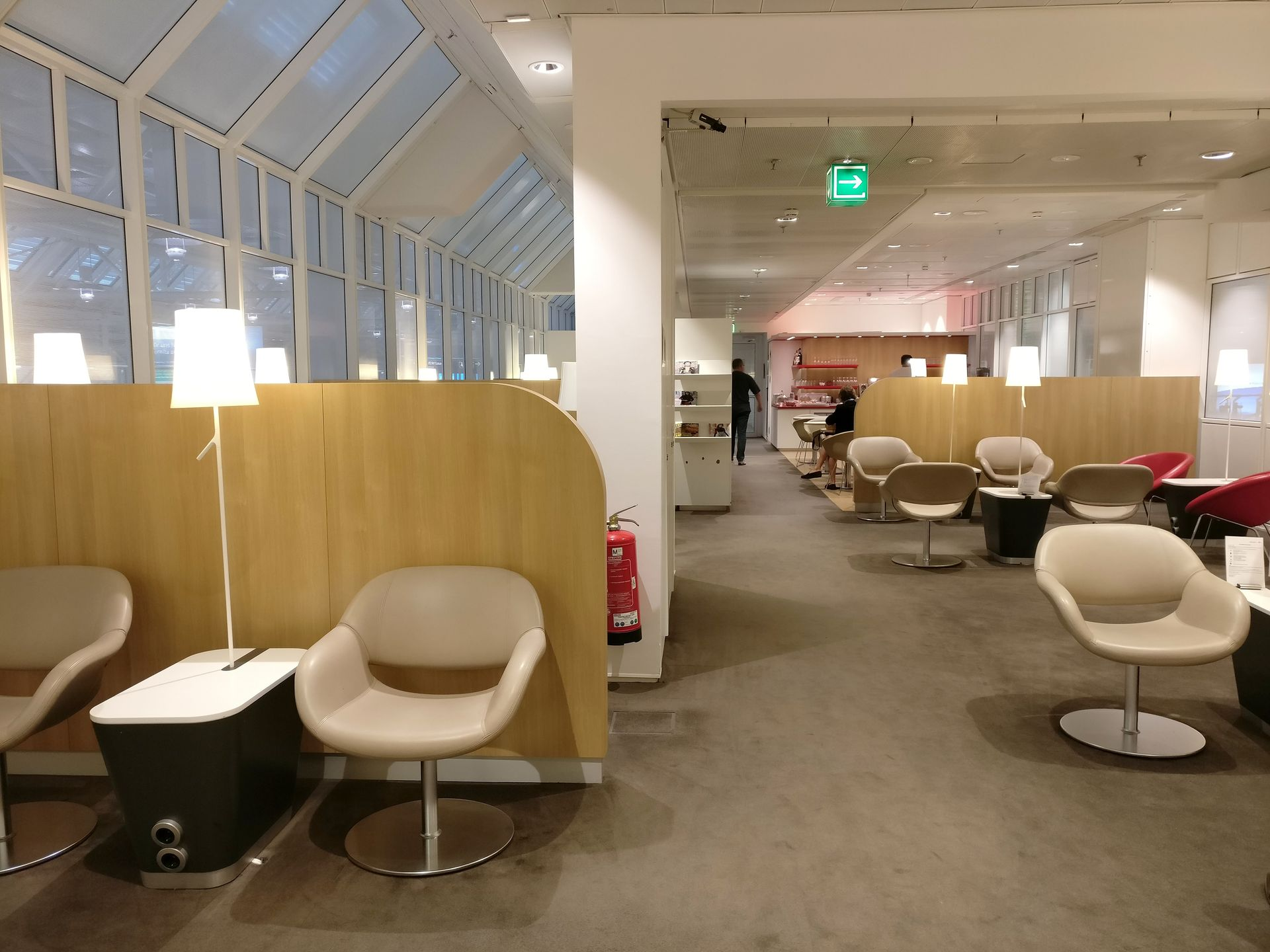 Air France Lounge Munich Seating