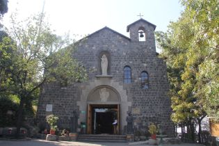 Chapel at Cerro San Cristobal Santiago de Chile