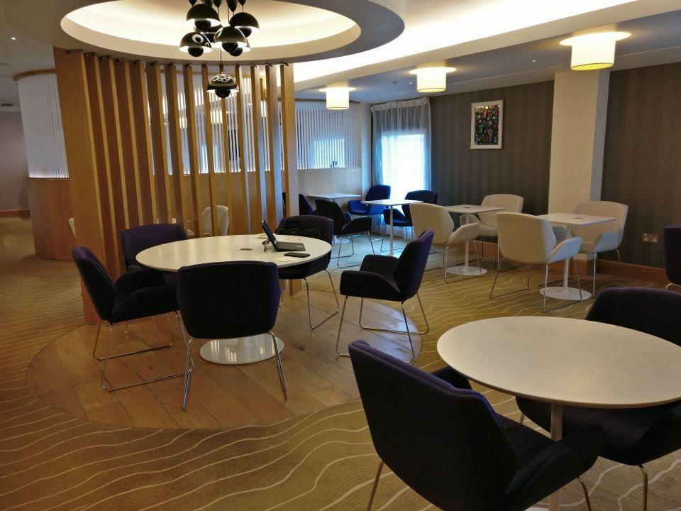 Hilton London Heathrow Terminal 5 Executive Lounge