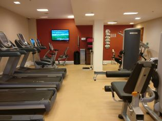 Hilton London Heathrow Terminal 5 Gym