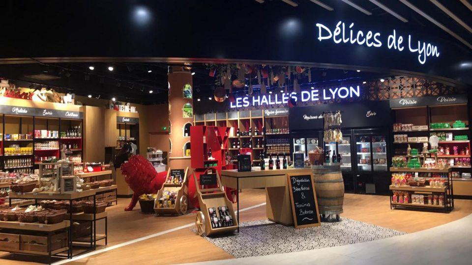 Lyon Saint Exupery Airport Shops