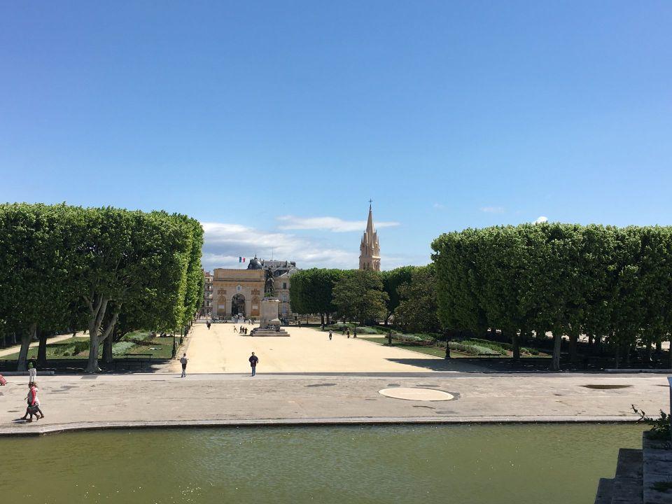 Montpellier Porte du Peyrou
