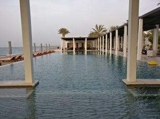 The Chedi Muscat Chedi Pool