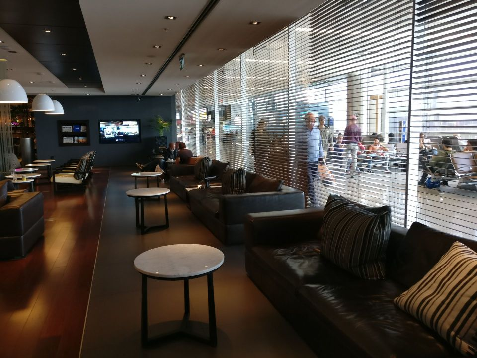 Aeropuertos VIP Club Montevideo Seating