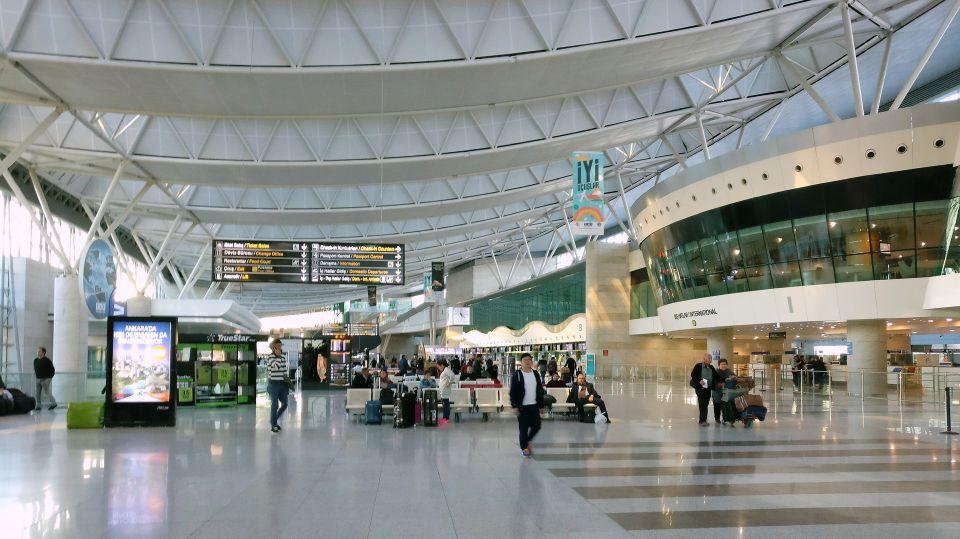 Ankara Airport Departure Hall