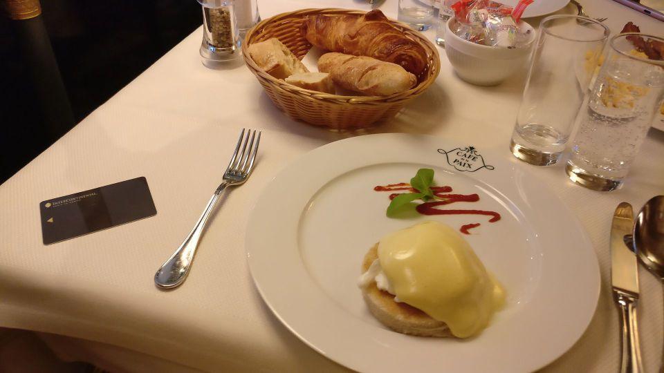 InterContinental Paris Le Grand Breakfast