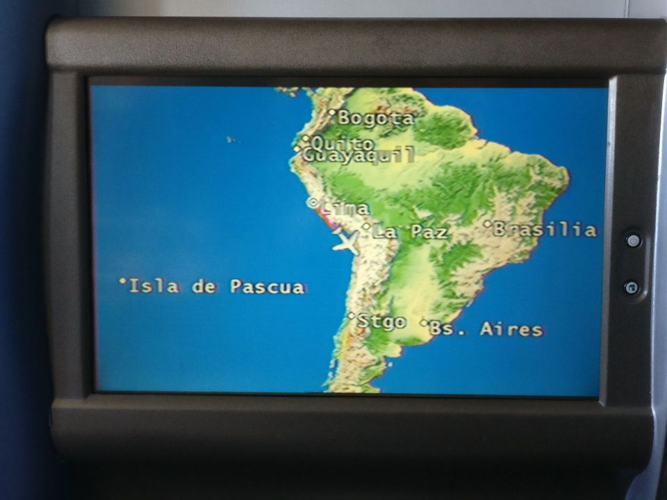 LATAM Business Class Boeing 767 Entertainment