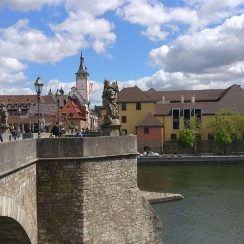 Würzburg Alte Mainbrücke