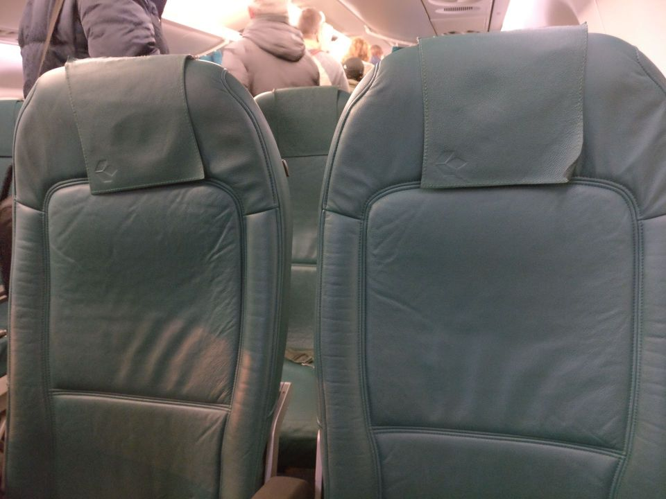 Air Dolomiti Business Class Seating