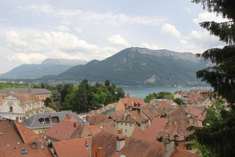 View from the Castle Annecy
