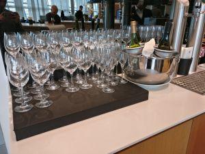 Lufthansa Business Lounge London Buffet