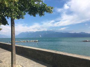 Ouchy Promenade Lausanne
