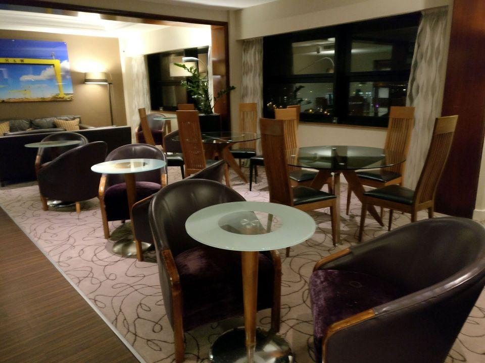 Hilton Belfast Executive Lounge Evening Spread