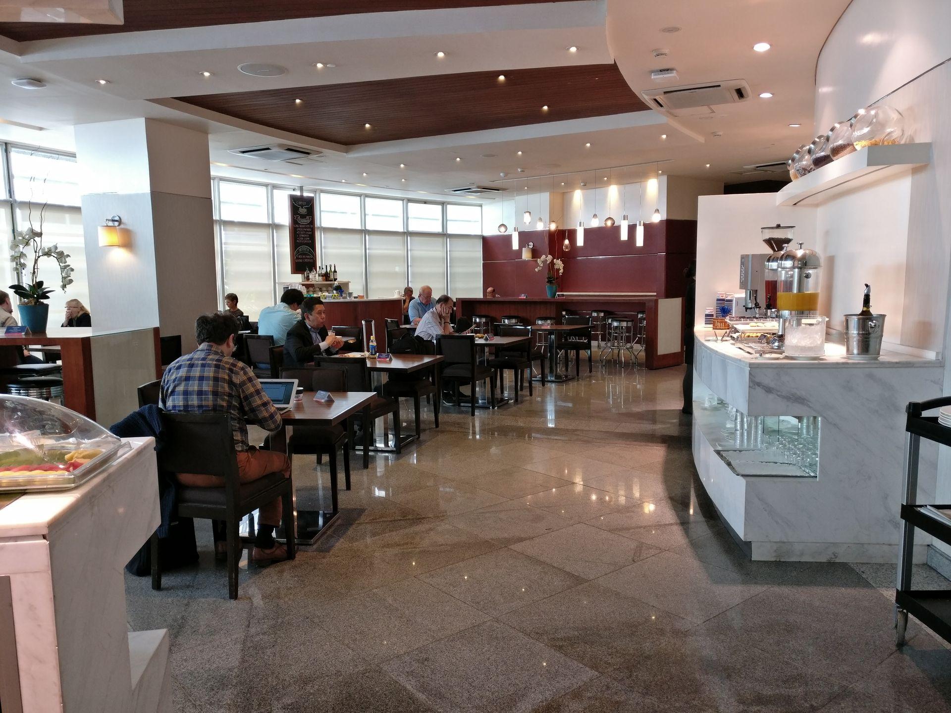 Philippine Airlines Mabuhay Lounge Manila Seating