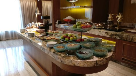 Conrad Macao Executive Lounge Afternoon Tea