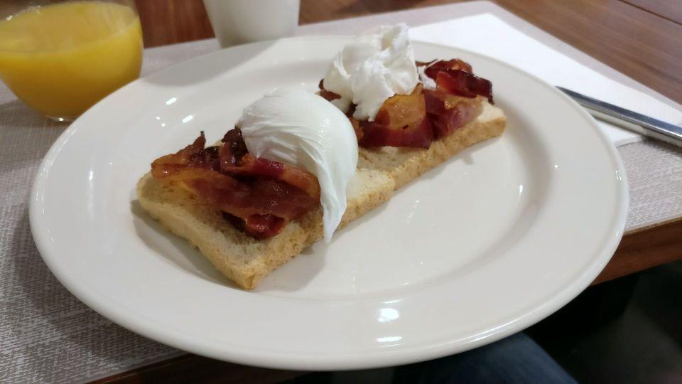 DoubleTree Cracow Breakfast