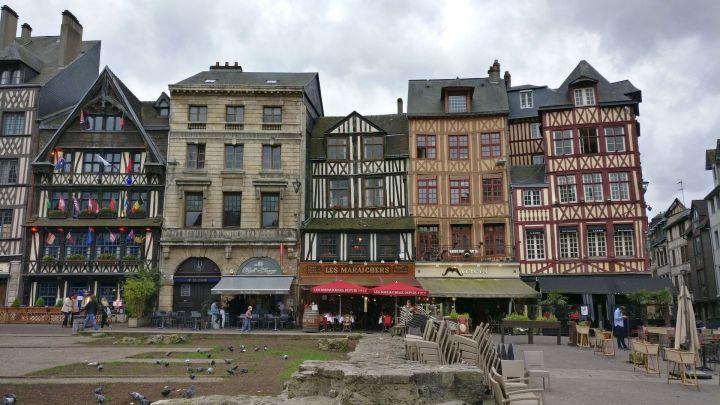 Place du Vieux Marche Rouen