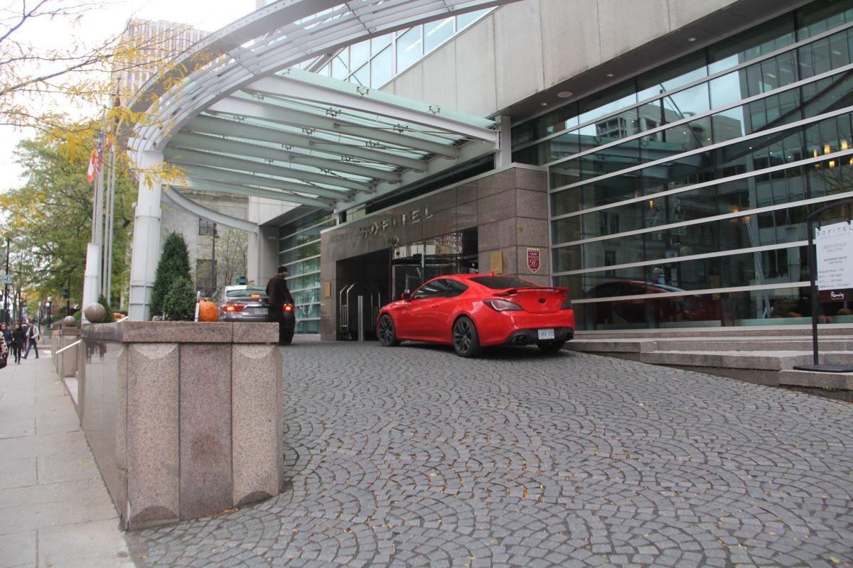 Sofitel Montreal Entrance