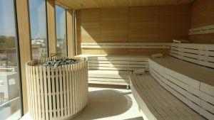 The Fontenay Hamburg Sauna