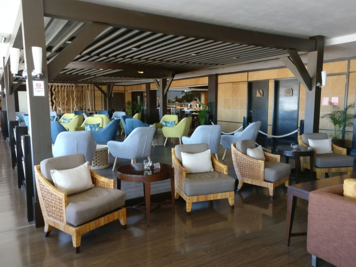 Air Seychelles Lounge Mahe Seating