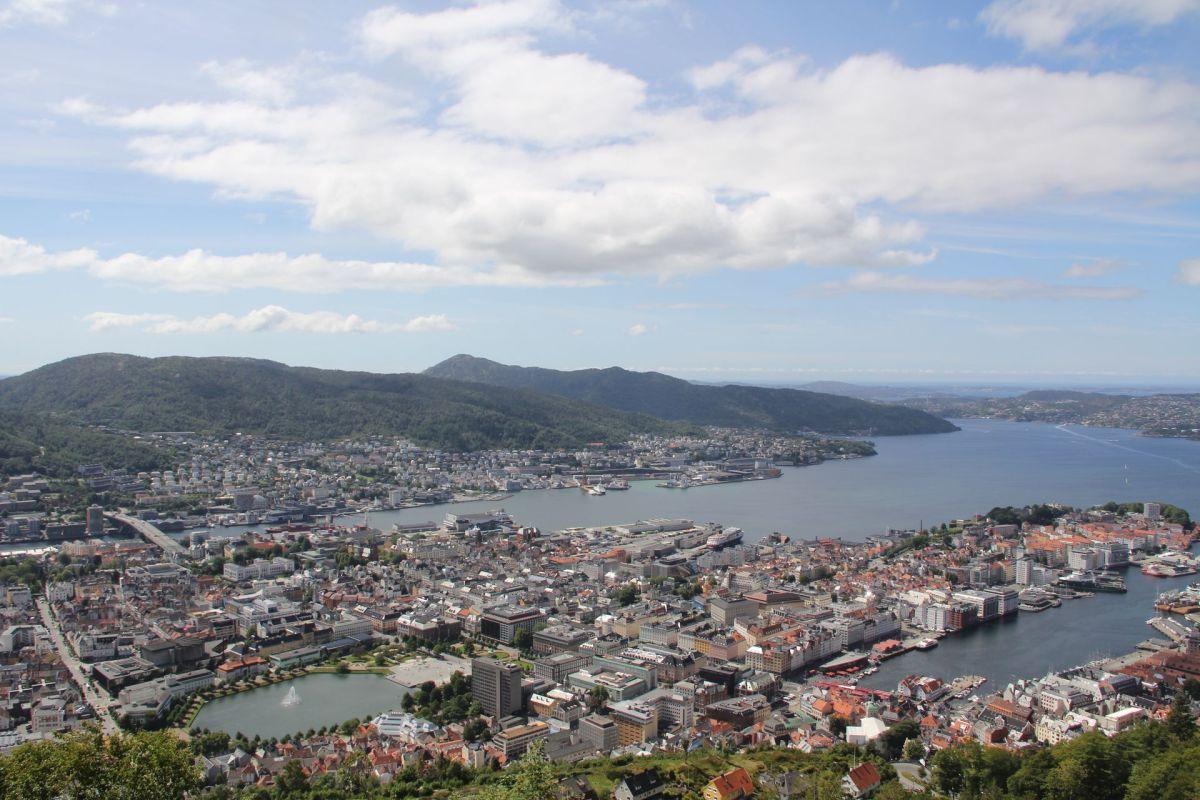 Bergen Floyen Viewpoint