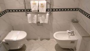 Colombi Hotel Freiburg Deluxe Room Bathroom