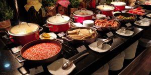 Conrad Singapore Breakfast
