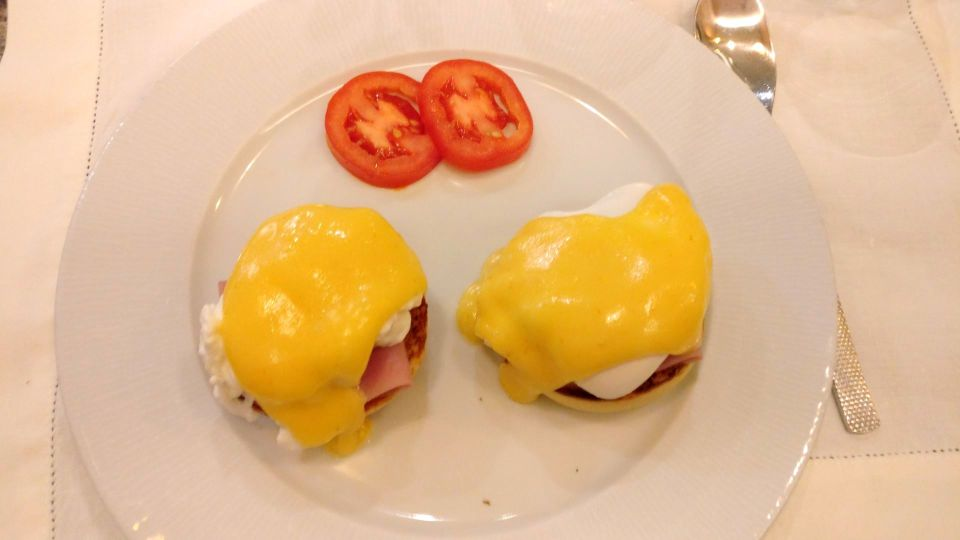 InterContinental Lisbon Club Lounge Breakfast