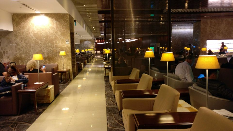 Singapore Airlines Silverkris Lounge Singapore T3 Seating