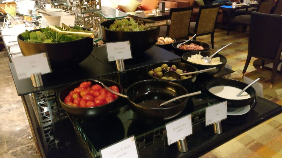 InterContinental Bangkok Executive Lounge Dinner