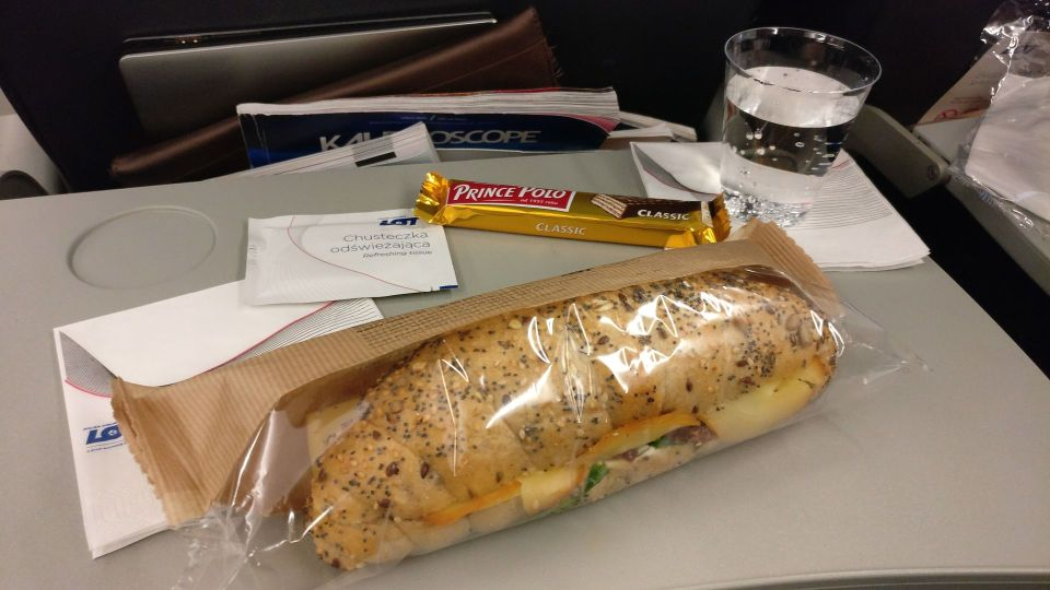 LOT Economy Class Sandwich