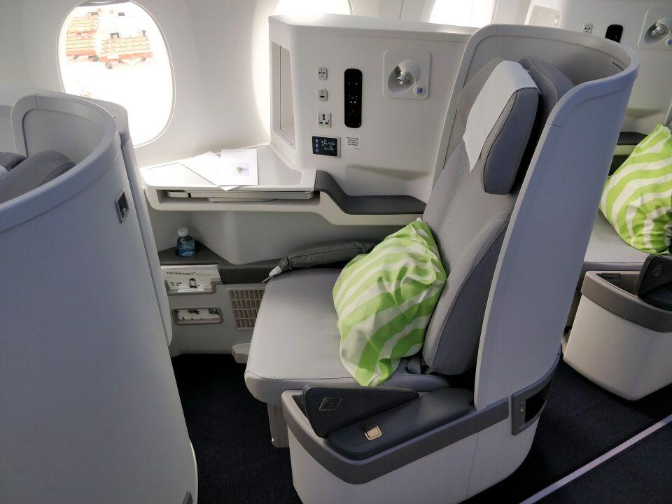 finnair business class airbus a350 seat