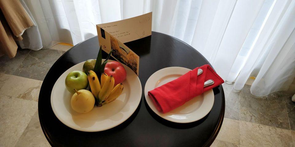 phoenix hotel yogyakarta welcome gift