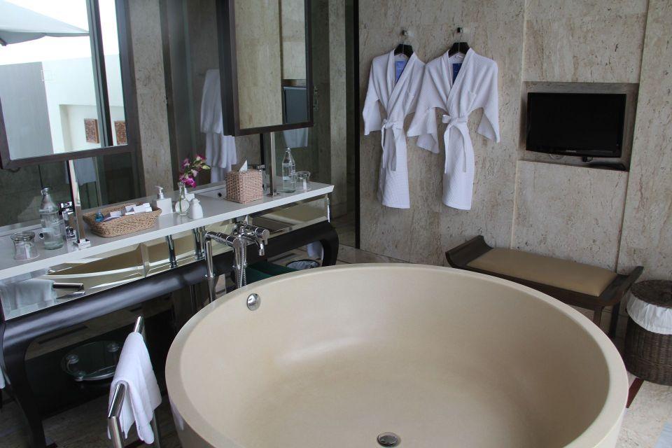 Conrad Koh Samui Villa Bathroom