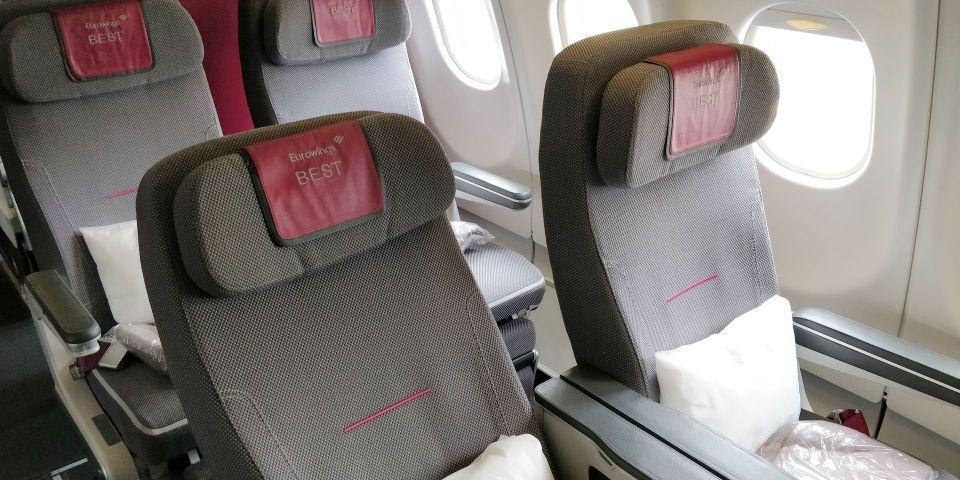 Eurowings Premium Economy Class Seat