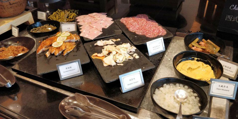 Four Seasons Shanghai Breakfast