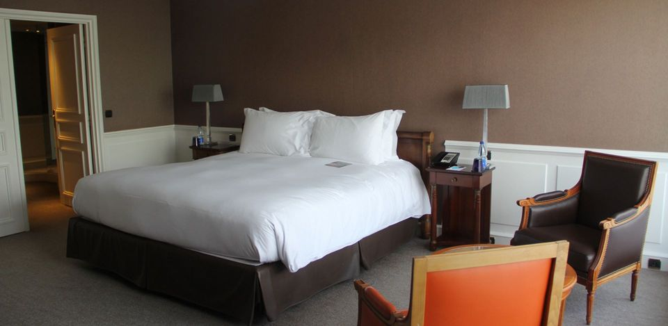 Sofitel Strasbourg Imperial Suite Bedroom
