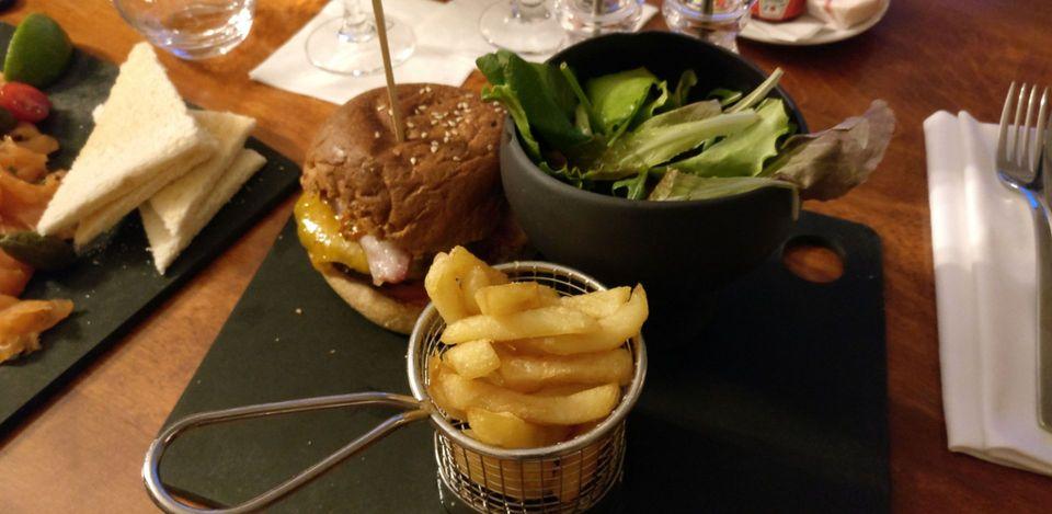 Sofitel Strasbourg Room Service Dinner